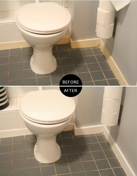 Bathroom skirting board update – The Interior DIYer
